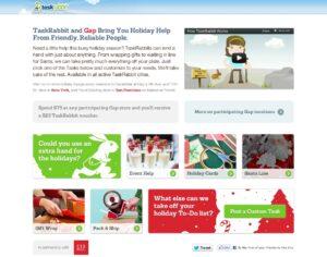 TaskRabbit Gap Marketing Partnership