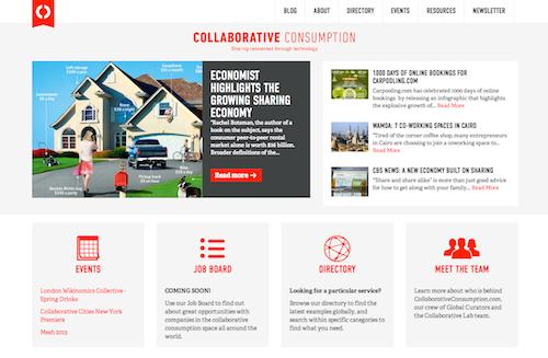 CollaborativeConsumption.com
