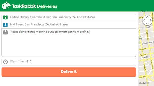 TaskRabbit Deliveries