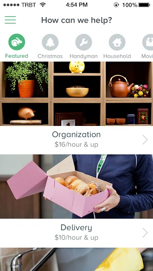 THE NEW TASKRABBIT IS HERE WITH NEW iOS + ANDROID APPS FOR