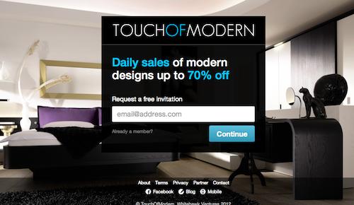 TouchOfModern TaskRabbit